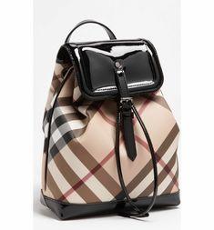 8ce82008af78 Burberry  House Check  Backpack (Girls)