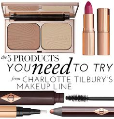 The 5 Products You NEED To Try From Charlotte Tilbury's Makeup Line | theglitterguide.com