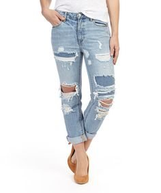 Loving this Vintage Xenon High-Rise Straight-Leg Jeans - Women on #zulily! #zulilyfinds