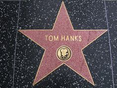 Tom Hanks--- totally deserves this. And a monument.