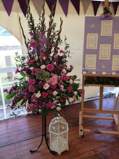 Venue Decorations | Vickys Flowers - Wedding Flower service with style and creativity | East Calder , West Lothian Flower Service, Glass Vase, Wedding Flowers, Creativity, Display, Table Decorations, Home Decor, Style, Homemade Home Decor