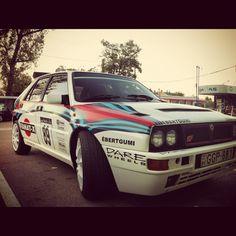 Lancia HF Integrale Martini racing