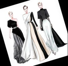 Fashion design sketches 480196379019265450 - Ideas Fashion Design Inspiration Sketches Haute Couture Source by ompelimotiina Dress Design Drawing, Dress Design Sketches, Fashion Design Sketchbook, Fashion Design Drawings, Dress Drawing, Fashion Sketches, Sketch Drawing, Dress Designs, Drawing Art