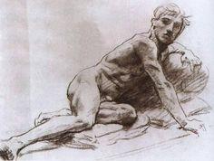 John Singer Sargent - Nude Study