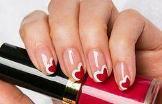 Diseños de uñas naturales sencillos, diseño uñas naturales con esmalte.   #uñasdecoradas #unhas #uñasdiscretas