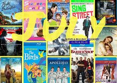 New July 2016 DVD & Blu-ray Releases: Movies & TV Rated G, PG, PG-13