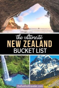 The ultimate New Zealand Bucket List! 47 awe inspiring places to visit in New Zealand to plan the perfect trip. One of the most beautiful country on earth, and still relatively untouched, New Zealand has so many things to discover! Here is my list of the best things to do in New Zealand. New Zealand Travel Tips | New Zealand Travel Guide | New Zealand Itinerary | What to do in New Zealand | #newzealand #traveltips
