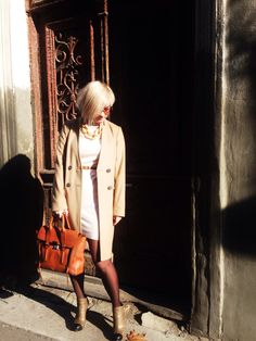 Autumn look for sunny day