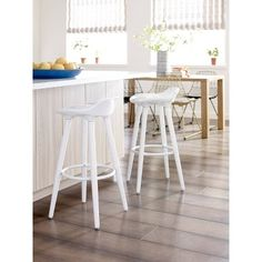Modern Counter Stools, White Bar Stools, Leather Counter Stools, Backless Bar Stools, Adjustable Bar Stools, Whitewash Wood, Contemporary Bar, All Modern, Home Goods