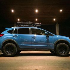 "Car: 2016 Subaru Crosstrek Modifications: @lp_aventure 1.5"" lift kit / @methodracewheels MR502 VTspec / @bfgoodrichtires T/A KO2 / @yakimaracks loadwarrior / @thule bike rack Owner: @jielem #subaru #Crosstrek #xv #lpaventure #liftkit #lachuteperformance #offroaddivision #offroad Photo: @jielem"