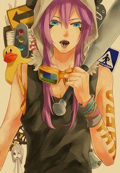 Tags: Anime, Vocaloid, Kamui Gakupo, Panda Hero