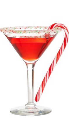 1000 images about christmas cocktails on pinterest for Christmas in a glass cocktail