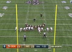 """Wow. It was a wild one at the Mercedes-Benz Superdome. The Denver Broncos got the go ahead score over the New Orleans Saints in the unlikeliest of fashions on Sunday. In the final two minutes of the fourth quarter, Drew Brees led the Saints to what would have been the game-winning touchdown drive – BUT … Continue reading """"Broncos block PAT to score, beat Saints 25-23 [VIDEO]"""""""