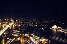View from Altitude restaurant - shangrila hotel, circular quay, sydney