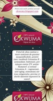 Product packaging pentru sapunul celor de la Okwuma.