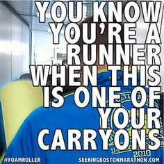 You know you're a #runner when________