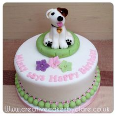 Jack Russell cake
