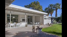 Donald Wexler House - Patio