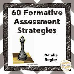 Classroom Freebies Too: FREEBIE! 60 Formative Assessment Strategies