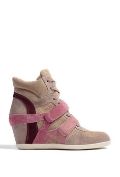Rose Bea Wedge Trainers by Ash