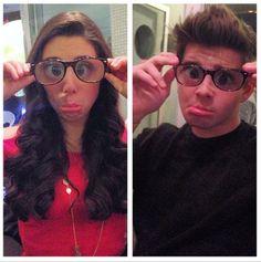 Kira kosarin and jack griffo glasses