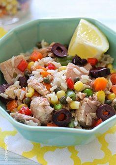Italian Tuna and Brown Rice Salad (Riso e Tonno)