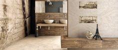 Treviso 20x50 | Ceramika Końskie - produkujemy gres Double Vanity, Bathtub, Ua, Bathroom, Design, Standing Bath, Washroom, Bathtubs, Bath Tube