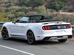 2017 Ford Mustang GT Convertible California Special Edition White ...