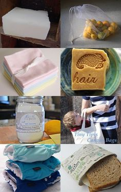 The Natural Family: Etsy has lots of choice items to replace some poisonous and disposable products in your home. This is just a small sampling to get you started on your journey.
