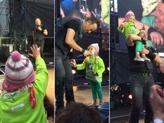 Menininha de 4 anos rouba cena de Bruce Springsteen em vídeo fofo