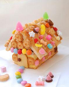 「お菓子の家の作り方と代表作」のブログ記事一覧-中西しほり の「あら、ちょいカワ? まあ、ちょい若レシピ?」