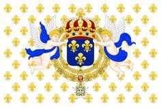 Royal Standard of the King of France.svg