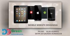 Call 0120-4109052 For #Iphone, #Android, #WindowsMobile #WebsiteDesignAndDevelopment. Dggreen Technocrates Pvt. Ltd. is an established #ITCompanyInDelhiNCR. Visit www.dgtechnocrates.com