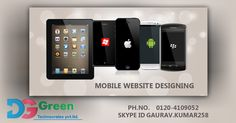 Call 0120-4109052 For #Iphone, #Android, #WindowsMobile #WebsiteDesignAndDevelopment. Dggreen Technocrates Pvt. Ltd. is an established #ITCompanyInDelhiNCR. Visit www.dgtechnocrates.com