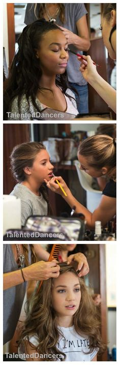 #ZieglerMaddie behind the scenes of her photoshoot with Dance Moms [01.05.16]