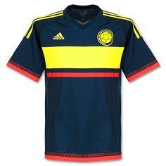 Camiseta de Colombia Copa América 2015 Visitante #copaamerica2015