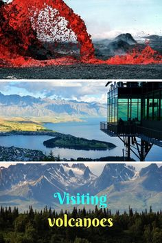 Visiting volcanoes - an interesting experience on your travels. AlWAYS choose safety over excitement, though! But volcanoes can be found in many countries and offer amazing views!