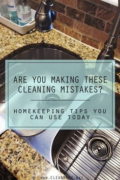 If you are spending time cleaning, make sure you're making the best use of your time and energy by avoiding these cleaning mistakes! (No judgment here, just trying to help you figure out the best and most efficient way to clean your home.) Vacuuming More Than Necessary Save your energy and vacuum weekly and do... (read more...)