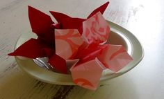 Origami Lily Table Decoration - Art And Craft - Kids Activities