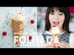 Casquinha de sorvete folhada + Croissant e Pain au Chocolat | Vídeos e Receitas de Sobremesas