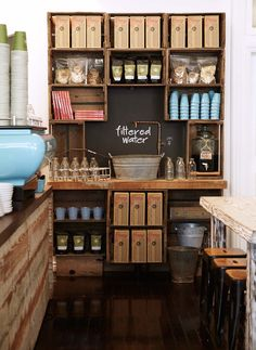 The Healthy Food Company approached us to concept the interior for their new cafe in an old building with original features in Mosman. View this project here.