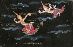 002-Libro de poesía Tailandesa- Segunda Mitad siglo XIX- Biblioteca Estatal de Baviera