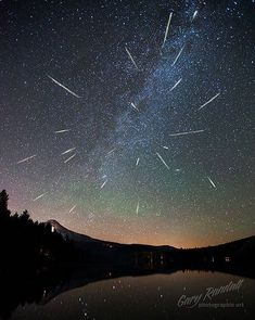 Perseus Meteor Shower 2012