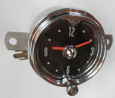1954 Mercury Clock - Serviced and Working with a 30 Day Guarantee + FREE Shipping!!! - $89.88 #1954AD #Mercury #Clock #ClassicCar #CollectorCar #VintageCar