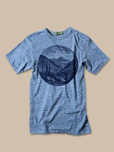 Men Valley Tshirt Alternative Apparel Size XS S M L by evertees, $24.00