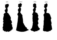 Victorian Silhouettes 1872-87