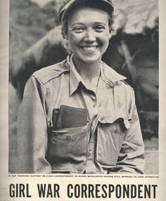 Marguerite Higgins (1920-1966) was a journalist and reporter who made a successful career as a war correspondent, and considerably advanced gender equality in the field. She was the first woman to win the Pulitzer Prize for Foreign Correspondence,...
