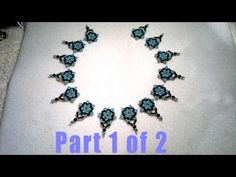 #Bead #Netted #Necklace #Beading #Tutorial #Video