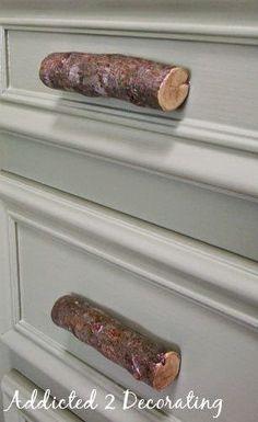 Boy Room, Kids Room, Woodland Room, Woodland Theme, Door Knobs, Door Pulls, Dresser Knobs, Cabinet Knobs, Deco Nature