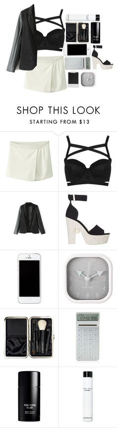 """#The Strokes – You Only Live Once"" by credentovideos ❤ liked on Polyvore featuring Topshop, Nicholas Kirkwood, Karlsson, Bobbi Brown Cosmetics, LEXON, Tom Ford and Polaroid"
